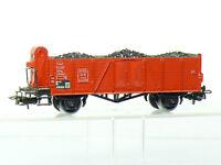Märklin 4604 H0 Güterwagen Omm 52 der DB, braun, mit Steinkohle-Einsatz