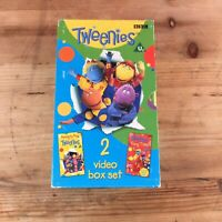 Tweenies 2 VHS Video Box Set Ready To Play & Song Time