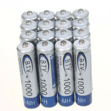 Pro 16PCS High Quality BTY Home Ni-MH AAA 1000mAh 1.2V Rechargeable Battery Set