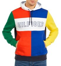 Tommy Hilfiger Colorblocked Popover Hoodie   NWT   Large   MSRP $169 Authentic