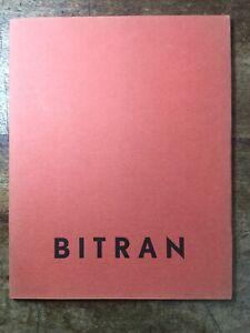 Albert Bitran 1961 Galerie Ariel Paris rare catalogue Mandello Michel Courtois