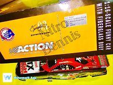 "NHRA JOHN FORCE 1:16 Action NITRO Funny Car Diecast HALLOWEEN Drag Racing ""RARE"""