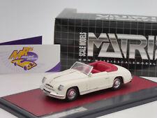 "Matrix MX50102-111 # Alfa Romeo 6C 2500 Ghia Convertible Bj.1947 "" weiß "" 1:43"