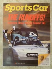 """1986 Porsche 944 Turbo Coupe """"The Runoffs!"""" Poster RARE!! Awesome L@@K"""