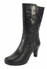Wadenhohe Tamaris Damen-Stiefel aus Echtleder mit hohem Absatz (5-8 cm)