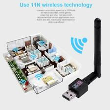 300Mbps USB2.0 Wifi Router Wireless Adapter Network LAN Card w/ 802.11n Antenna