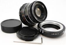 ⭐SERVICED⭐ INDUSTAR-61 L/D LD 55mm f/2.8 Lens M39 + Adapt. Micro M 4/3 MFT Mount