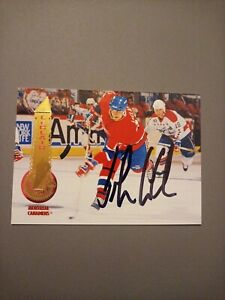 1994-95 Pinnacle John LeClair Canadiens Auto Autographed Signed Card