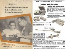 Freeland, Al 1957 Scope Stands, BSA Rifles and Accessories