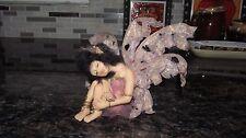 Fairy pixie elf polymer clay OOAK Fantasy Art Doll Hand made By Renee Harris