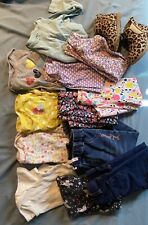 Baby girl clothes 24 months lot (12 Pieces + Boots)