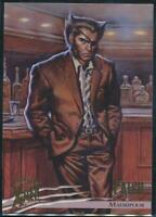 1996 X-Men Ultra Wolverine Trading Card #51 Patch