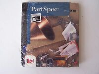 PartSpec Edition 4.0 PC Software New Sealed