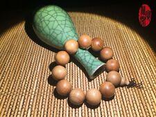 India Sandalwood Single Circle Buddha Beads Rosary 18mm Beads