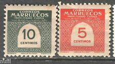 MARRUECOS Spanish Morocco  edifil # 382/383 ** MNH cifras