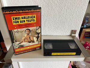 Zwei Halleluja Für Den Teufel, VHS Erstauflage, World Video, Royal / Loyal Video