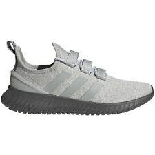 Mens Adidas Kaptir Lace Up Grey Sport Athletic Running Shoes FW5118 Sizes 11-13