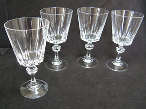 4 Princess House Crystal Esprit Water Glass or Large Wine 1970's