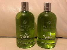 Molton Brown 2 x 300ml Dewy Lily Of The Valley & Star Anise Bath & Shower Gel