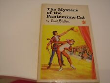 Vintage 1966 Paperback The Mystery of the Pantomime Cat by Enid Blyton