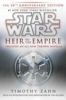 Star Wars: Heir to the Empire, Hardcover by Zahn, Timothy, Like New Used, Fre...