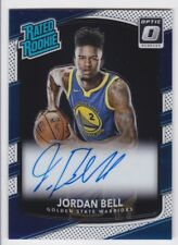 2017/18 DONRUSS OPTIC JORDAN BELL RC RATED ROOKIE AUTO AUTOGRAPH CARD #163