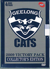GEELONG CATS  VICTORY PACK 2009 ( 4 DISC PACK ) NEW AND SEALED