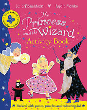 NEW the PRINCESS AND THE WIZARD - ACTIVITY book Julia Donaldson  Gruffalo