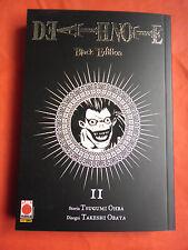 DEATH NOTE N°2 BLACK EDITION 1° EDIZIONE-DI TSUGUMI OHBA E TAKESHI OBATA FUMETTO