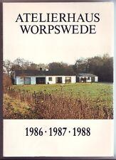Atelierhaus Worpswede  1986 - 1987 - 1988  Künstlerkolonie