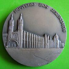 Manueline Monument Jerónimos Monastery Armillary Sphere BIG Tin Medal #138 M.17a