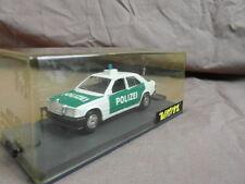 VEREM (SOLIDO) Made in France : 195 MERCEDES 190 POLIZEI POLICE ALLEMANDE