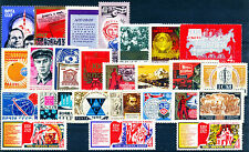 RUSSIA 25 All Different Mint Thematic Large Stamps
