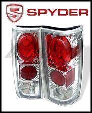 Spyder Chevy S10/S10 Blazer 82-93 Euro Style Tail Lights Chrome