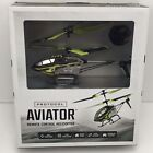 NEW Protocol Aviator Indoor Remote Control RC Helicopter with Gyro Stabilization