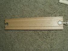 """Wooden 8"""" Straight Train Tracks Ikea Thomas Brio Compatible"""