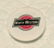 Chicago and North Western System Railroad Magnet Vintage