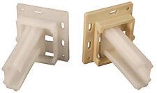 """Small """"C"""" Drawer Slide Sockets RV Designer H306 White/Camper/RV/Motorhome"""