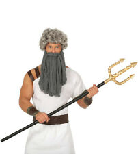 Trident Poseidon Neptune Shiva Gladiator 3 Pronged Spear Fancy Dress Prop 140CM