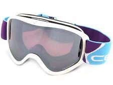 CEBE - STRIKER M ski snow Goggles WHITE VIOLET/ Dark Rose Mirror Cat.3 CBG60