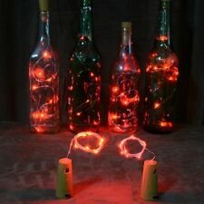 Cork Shaped 15 LED Night Light Starry Lights Wine Bottle Lamp For Party Colorful