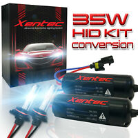 Hid Conversion Kit H1 H3 H4 H7 H11 6000K 8000K Xenon Headlight Bulbs 35W Ballast