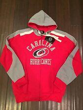 Carolina Hurricanes Mens Full Zip Hoodie X-Large . Sweatshirt NHL NEW