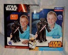 "Star Wars BluePrints Paper Craft 12"" Tall Poseable Character Darth Vader 2 Pack"