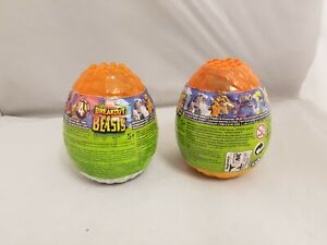 MEGA Construx Breakout Beasts Slime Mystery Suprise Eggs Bundle of 2
