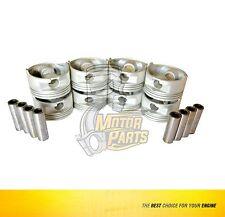 """.040/"""" 4 Mercury//Mercruiser 120hp Chevy Marine 2.5//2.5L//153 Pistons Rings Kit"""