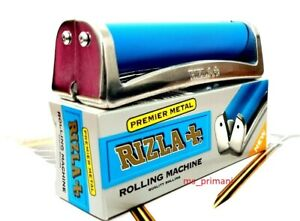 RIZLA REGULAR SIZE GENUINE ROLLING MACHINE CIGARETTE TOBACCO PREMIUM METAL FAG