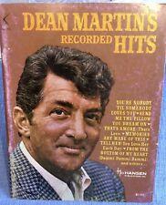 Dean Martin's recorded Hits,American Music, Klavier u Singstimme,1965,s.Fotos