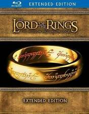 The Lord of the Rings Trilogy Extended Edition Blu-ray Fellowshi/Two Towers/King