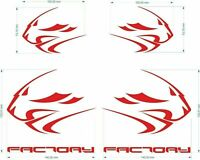 FE MOTO STICKERS Aufkleber logo rsv4 rsv 4 APRILIA FACTORY RACING LION RSV4 /889